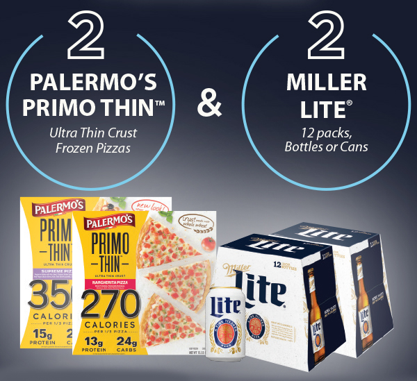 Palermo's and Miller Lite